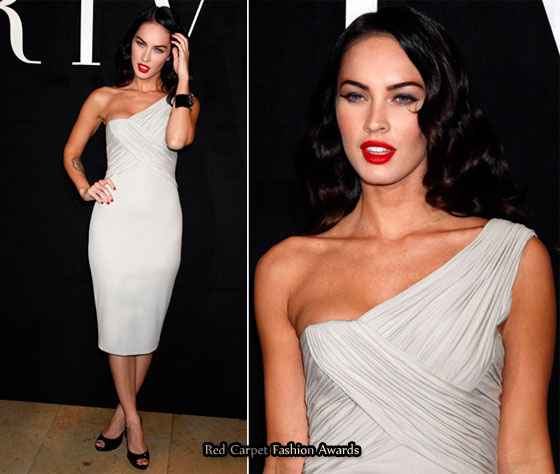 Megan Fox Dress. grants Megan Fox front row