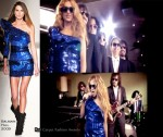 "Runway To ""Causa Y Efecto"" Video - Paulina Rubio In Balmain"