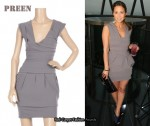 In Rachel Stevens' Closet - Preen Power Bandage Dress