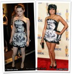 Who Wore Roberto Cavalli Better? Roxane Mesquida or Taraji P. Henson