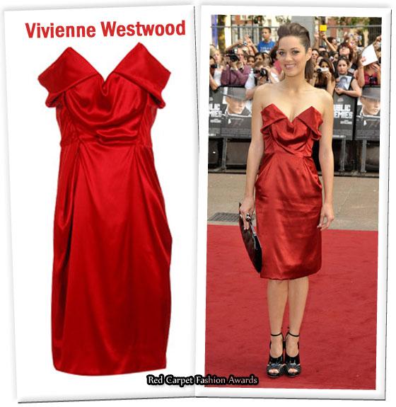 Marion Cotillard S Vivienne Westwood Red Carpet Dress On