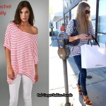 In Lauren Conrad's Closet - Rachel Pally Oversized Slouchy Striped T-Shirt