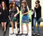 Rachel Bilson's Obsession - Hunter Green Bag