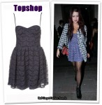 In Peaches Geldof's Closet - Topshop Corset Dress
