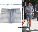 In Rachel Bilson's Closet - Current/Elliott Studded Shorts