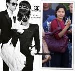 """In Freida Pinto's Closet - Chanel """"Coco Cocoon"""" Bag"""
