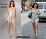 In Sophia Bush's Closet - Vena Cava Occult Silk Romper