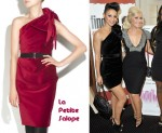 In Amelle Berrabah's Closest - La Petite S***** Asymmetrical Velvet Black Dress