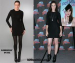 In Alexis Bledel's Closet - Kimberly Ovitz Jacob Jersey Mini Dress