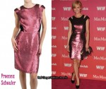 In Amber Valletta's Closet - Proenza Schouler Sequined Cut-Out Dress