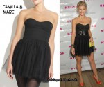 In AnnaLynne McCord's Closet - Camilla and Marc Strapless Lotus Frock Tulle Dress