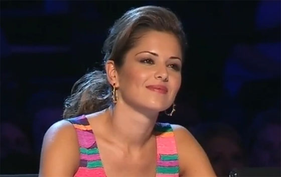 Cheryl Cole Wears Tibi On The X Factor Live Auditions Red Carpet Fashion Awards