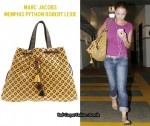 Katherine Heigl's Obsession - Marc Jacobs Memphis Python Robert Lexie Bag
