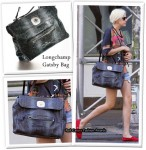 In Agyness Deyn's Closet - Longchamp Gatsby Bag