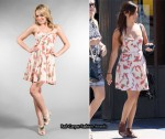 In Ashley Tisdale's Closet - Free People Floral Dress