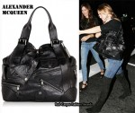 In Kate Hudson's Closet - Alexander McQueen Faithful Leather Tote