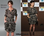 In Ginnifer Goodwin's Closet - Brian Reyes Black & White Dress