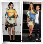 Who Wore Matthew Williamson For H&M Better? Ginnifer Goodwin or Daria Werbowy