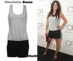 In Jessica Szohr's Closet - Charlotte Russe Two-Tone Romper