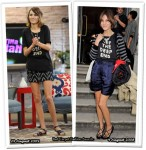 When Celebrities Wear The Same Thing Twice - Alexa Chung In Marc by Marc Jacobs