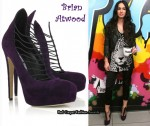 In Megan Fox's Closet - Brian Atwood Lola Suede Pumps