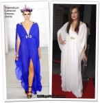 "Runway To ""A Perfect Getaway"" LA Premiere - Milla Jovovich In Temperley London"