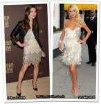 Who Wore Roberto Cavalli Better? Milla Jovovich or Paris Hilton