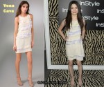 In Miranda Cosgrove's Closet - Vena Cava Tiered Dress