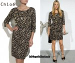 In Molly Sims' Closet - Chloé Jewel Embellished Dress