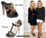 Mary-Kate & Ashley Olsen Visit Holt Renfrew & MuchOnDemand
