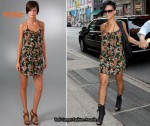 In Rihanna's Closet - Parker Floral Cami Dress
