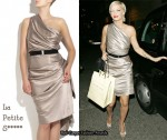 In Sarah Harding's Closet - La Petite S***** Asymmetric Dress
