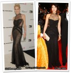 Who Wore Christian Dior Better? Sharon Stone or Kim Ok-Vin