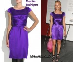 In Tory Burch's Closet - Narciso Rodriguez Purple Silk Dress