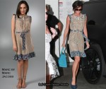In Victoria Beckham's Closet - Marc by Marc Jacobs Cloud Flower Print Dress