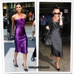 Victoria Beckham Takes One Dress To Denver...