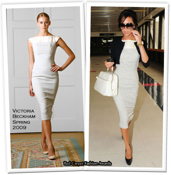 Runway To Lax Victoria Beckham In Collection