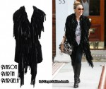 In Kylie Minogue's Closet - Maison Martin Margiela Sheepskin Gilet