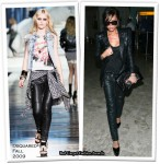 Runway To Heathrow Airport - Victoria Beckham In Balmain & Dsquared²