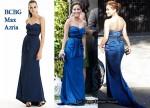 In Adrienne Bailon's Closet - BCBG Max Azria Strapless Blue Gown