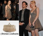 In Amanda Seyfried's Closet - Christian Louboutin Pliage Framed Clutch