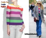In Claudia Schiffer's Closet - Sonia by Sonia Rykiel Striped Sweater