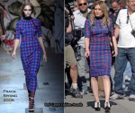 "Runway To ""The Business of Falling in Love"" Set - Hilary Duff In Prada"