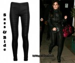 In Cheryl Cole's Closet - Sass & Bide Rat Leggings & Jimmy Choo Leopard Odette Bag