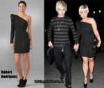 In Kelly Osbourne's Closet - Robert Rodriguez Studded Mini Dress