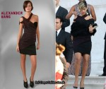 In Rihanna's Closet - Alexander Wang One-Shoulder Dress