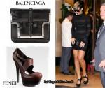In Rihanna's Closet - Balenciaga & Fendi