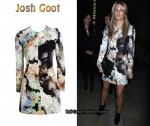 In Alex Curran's Closet - Josh Goot Printed Mini Dress