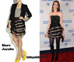 In Anne Hathaway's Closet - Marc Jacobs Sequin Ruffle Skirt