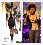 Runway To 2009 VH1 Hip Hop Honors Show - Ashanti In Louis Vuitton
